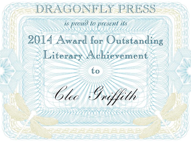 Dragonfly_Award_2014Cleo